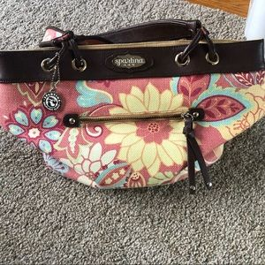 Used handbag. With some stains on the inside